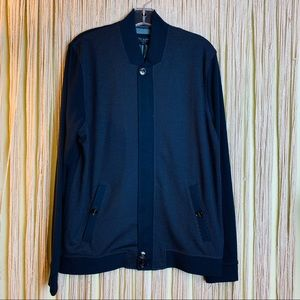 Ted Baker NWT! Zip Up Sweater Cardigan Jacket